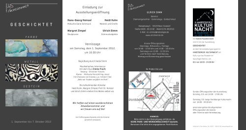 Download Flyer Als Pdf Datei Heidi H Kuhn