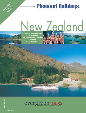 New Zealand - Pleasant Holidays