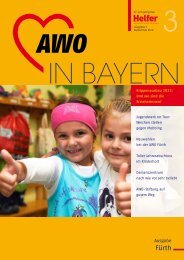 Werden auch Sie Stifter in der AWO-Stiftung! - Arbeiterwohlfahrt ...