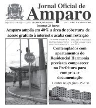 04/10/2013 - Prefeitura Municipal de Amparo