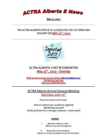Alberta chat
