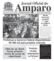 Jornal Oficial - 15 abril 2011 - Prefeitura Municipal de Amparo