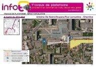 A partir du 23 juillet Antoine De Saint-Exupery/Rue ... - Le Tram