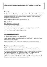 Protokoll 08.11.2011 - Start - Katholisch in Steinfurt