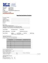 Worksheet Specifications - Concrete Batch Plants