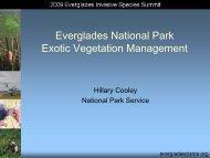 Plants - Everglades Cooperative Invasive Species Management Area