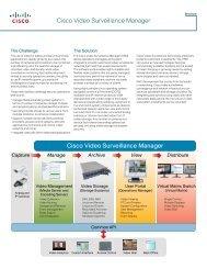 Cisco Video Surveillance Manager