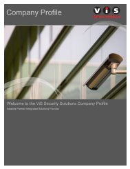 Company Profile - VIS Security