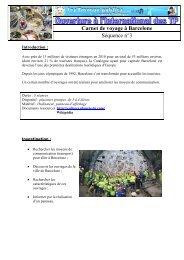 Carnet de voyage à Barcelone Séquence n°3 - Espace Collèges ...