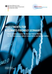 InvestMents For A ClIMAte-FrIendly GerMAny - Potsdam Institute for ...