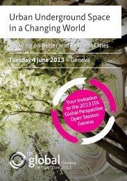Urban Underground Space in a Changing World - ITA-AITES