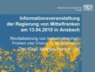Revitalisierung von Industriebrachen - Regierung von Mittelfranken ...
