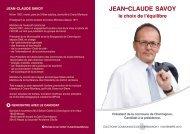 jean-claude savoy - Parti Blanc