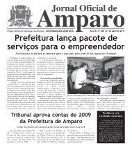 Jornal Oficial - 01 abril 2011 - Prefeitura Municipal de Amparo