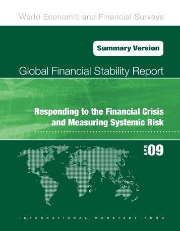 Global Financial Stability Report (GFSR): Responding to the ...