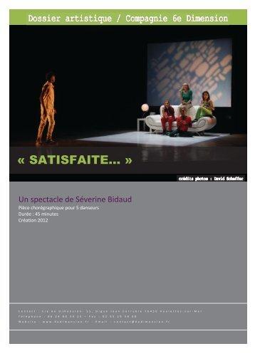 Dossier PDF (780Ko) : Satisfaite... - L'Eclat