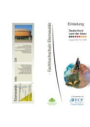 Einladung Land der Ideen 2008... - Global Climate Forum