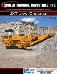 JXT Jaw Crusher - Index Industrial Brokers