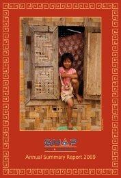 GHAP 2009 Annual Report - Community Partners International