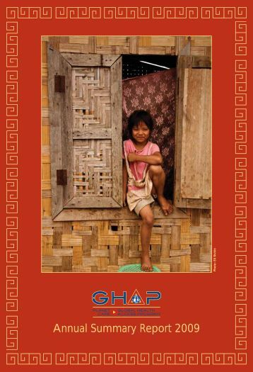 GHAP 2009 Annual Report - Community Partners International