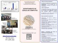 departamento de ciencia de cómputos - Universidad de Puerto Rico ...
