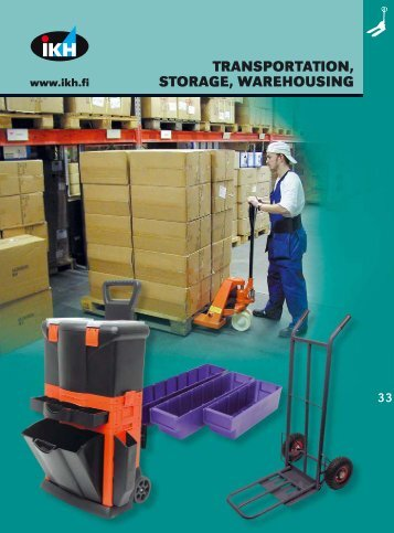 IKH tools 2007, 36. Transportation, storage, warehousing