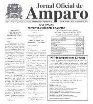 Jornal Oficial - 28 de dezembro de 2012 - Prefeitura Municipal de ...