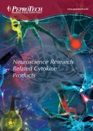 neuroscience related diagrams - PeproTech, Inc.