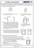 JC40 Trenchbox Mk4 Pinned Struts - Mabey Hire - Page 7