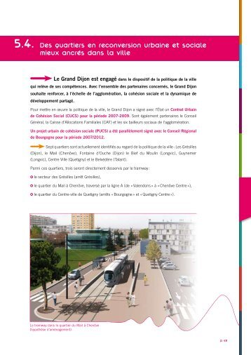 Dossier Grenelle Environnement - extraits ... - Le Tram