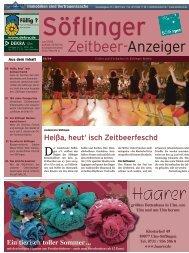 Söflinger Zeitbeer-Anzeiger vom Juni 2009 (PDF 10,1 MB)