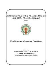 Instruction Booklet for MPTC/ZPTC - state election commission ...