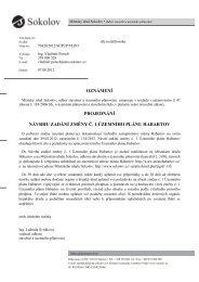 oznámení projednání návrhu zadání změny č. 1 územního ... - Mnichov