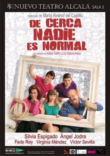 cerca nadie es normal de Aitana Galán y Luis García ... - Publiescena