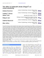The effect of sildenafil citrate (Viagra ) on visual ... - Journal of Vision
