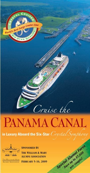 PANAMACANAL - The William & Mary Alumni Association