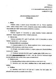 konkursa nolikums - Studentu Pašpārvalde