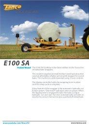 Download E100 SA Brochure - Tanco Autowrap