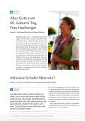 2015 JULI / LEBENSHILFE FREISING / TAUSENDFÜSSLER-Magazin - Page 6