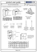 4m and 4.5m Manhole Box User guide page 1 - Mabey Hire - Page 2