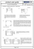 4m and 4.5m Manhole Box User guide page 1 - Mabey Hire - Page 7