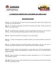 4º TORNEIO ABERTO DE VOLEIBOL DE AREIA 2012 - Prefeitura ...