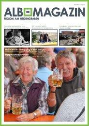 Albmagazin - Ausgabe Heidengraben 2/2015