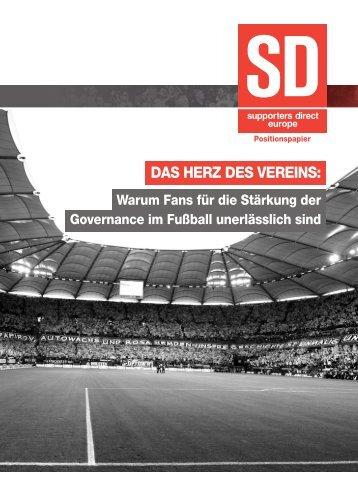DAS HERZ DES VEREINS: - Supporters Direct