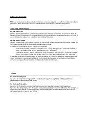 Catégories d'emprunts - Dexia Crédit Local