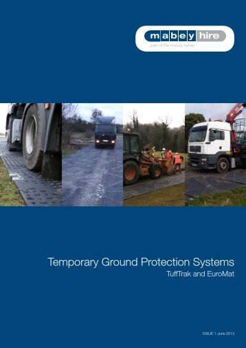 Temporary Ground Protection Systems - Mabey Hire