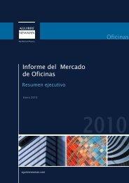 Informe del Mercado de Oficinas