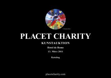 Druckkatalog / Print Catalogue ( 2MB ) - Placet Charity Kunstauktion