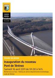 17 avril 2011 : Inauguration du pont de Térénez - Conseil Général ...
