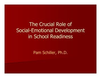 The Crucial Role of Social-Emotional Development in School ...